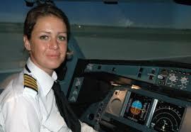 Sophie Blanchard, première femme commandant de bord chez Etihad Airways