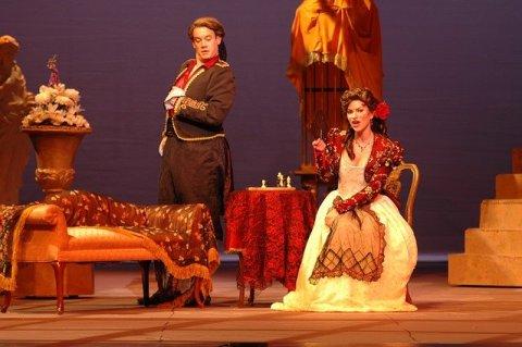 Photo de la représentation du Barbier de Séville