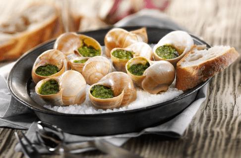 gastronomie en bourgogne, escargots
