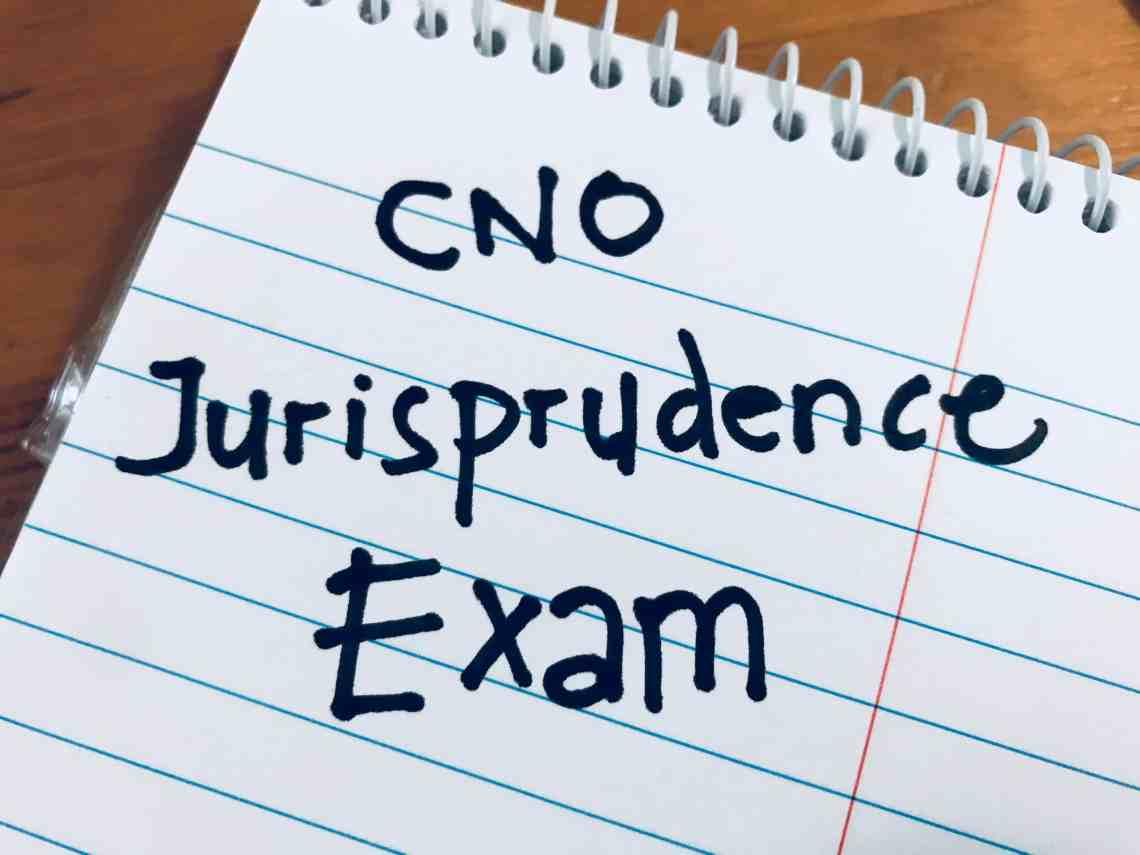 CNO Jurisprudence Exam