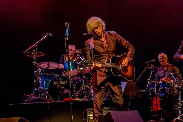 Bob Geldof and band