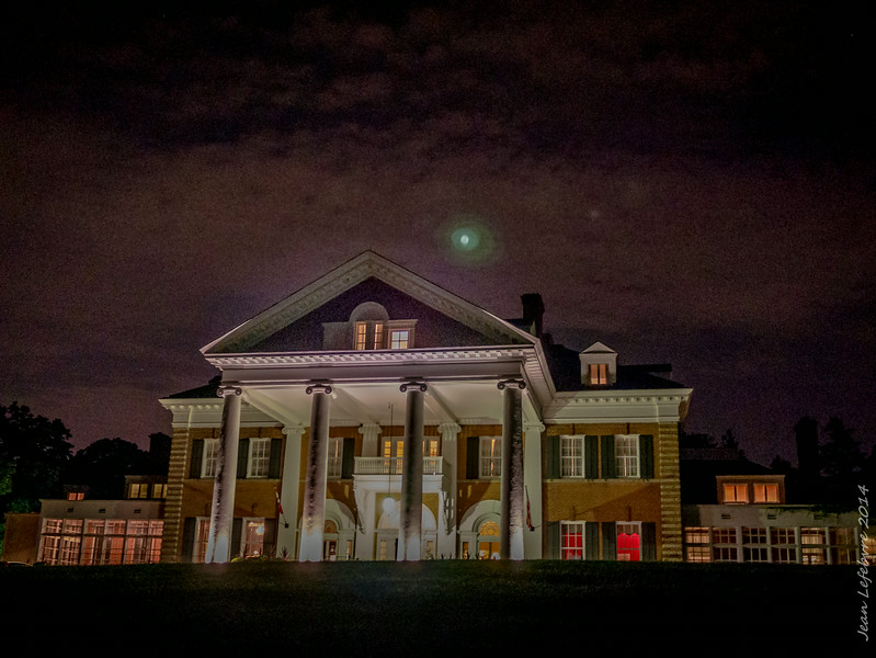 Langdon Hall at night