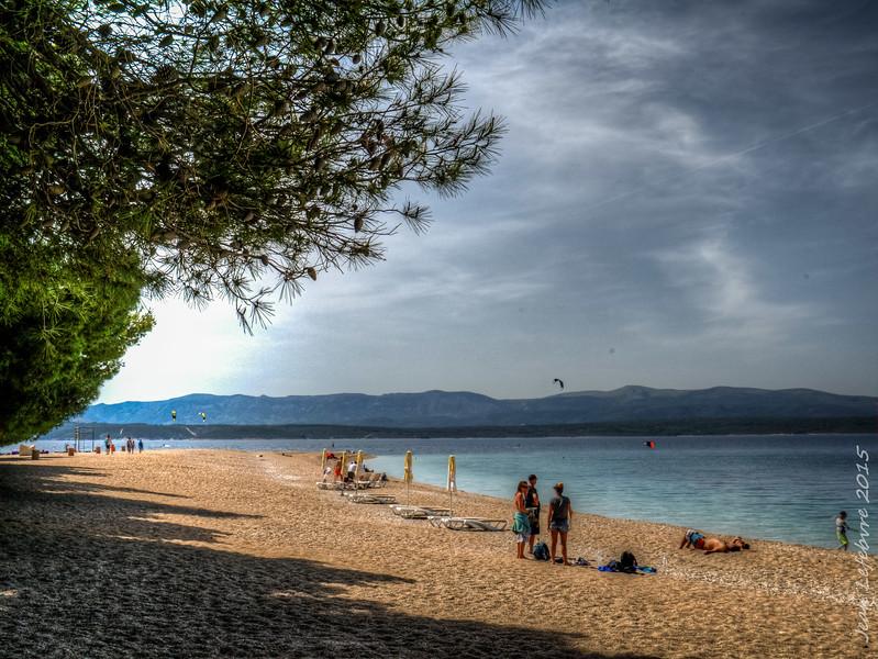 Beautiful Bol beach
