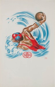 Affiche modele Swimming Club ERA