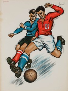 Affiche modele Football Luxembourg