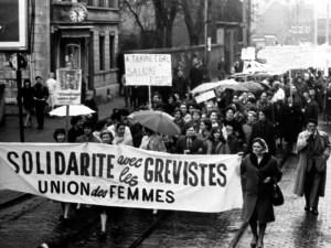 Greve des femmes FN