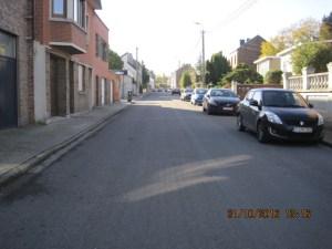 Milieu de voirie rue Des Fraisiers