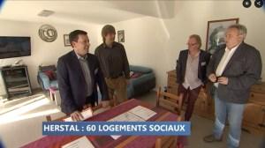Nouveaux logements publics à Liers - inauguration (c) RTC