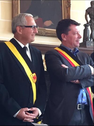 Frederic Daerden et Jean Louis Lefebvre