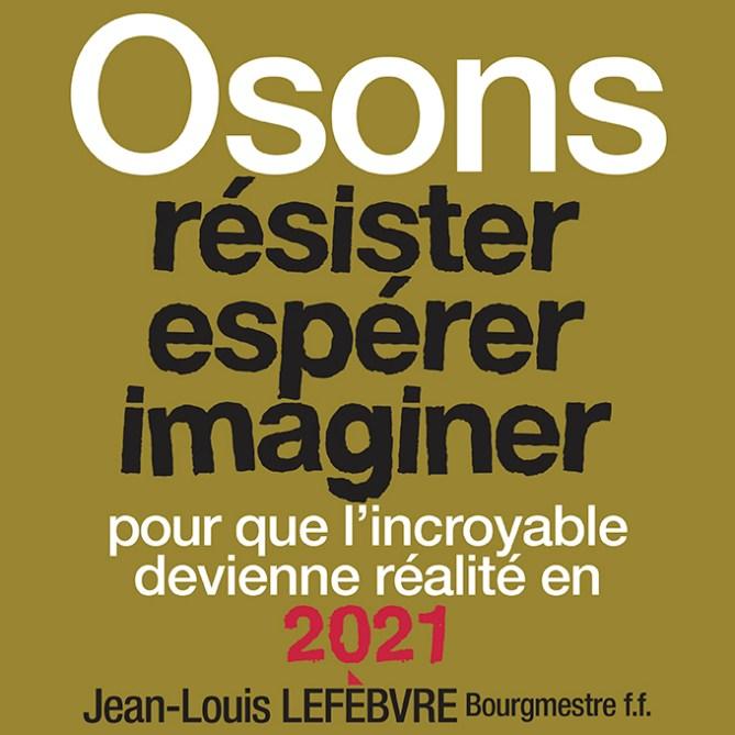 VOEUX 2021 Jean-Louis Lefevre Bourgmestre ff Herstal