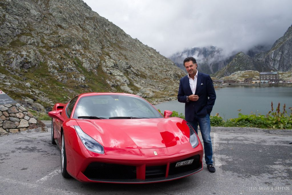 Hublot Ragheb Ferrari Swiss Alps Road Trip By Jean Ghalo