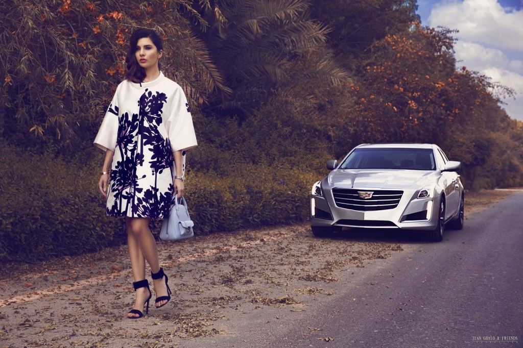 Snob Magazine Cadillac Shoot with Lamita FRANGIEH