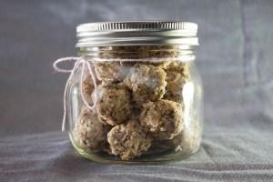 J-Balls (8) in jar - Snacks by Jeana