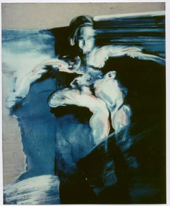 Buée 2, 40 x 55 cm, huile/toile