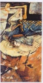 Epave, 22 x 31 cm, gouache/papier