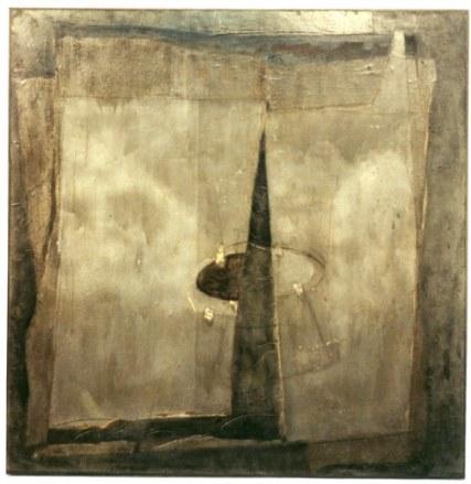 Saturnisme 2, 150 x 150 cm, 1988