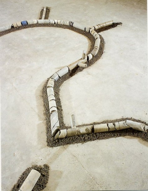 Rhizomes (détail), 2001
