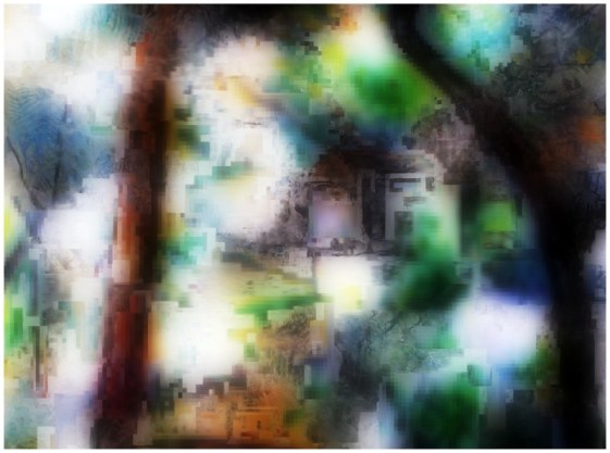 Saturation (arbre tordu 12), 2010