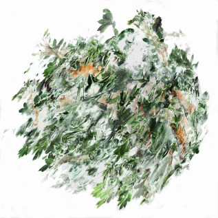 2017-La flèche de plomb 06, 150 x 150 cm
