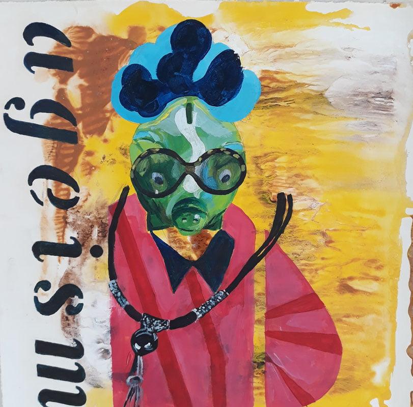 Ageism series 355 Jean Ballands Port Macquarie Artist