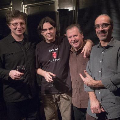 L'Alibi jazz Club - Emil, Jean, Bruce, Andréa 2014