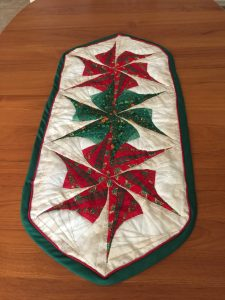 Christmas Table Runner by Jean Brashear
