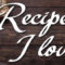 Recipes I Love By Jean Brashear