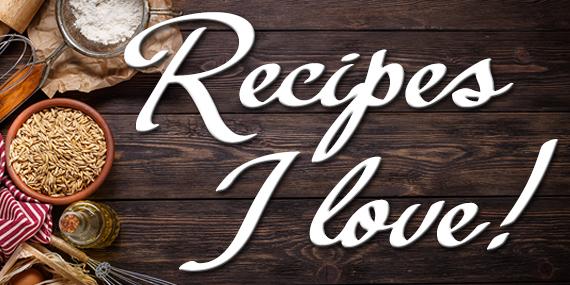 Recipes I Love By Jean Brashear