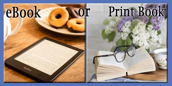 eBooks or Print Books? by Jean Brasear