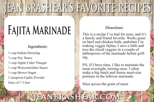 Fajita Marinade Recipe by Jean Brashear