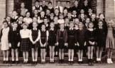 Standar 3 class, Hendrik VanderBijl Primary School, 1953.