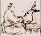 The great accompanist Gerald Moore