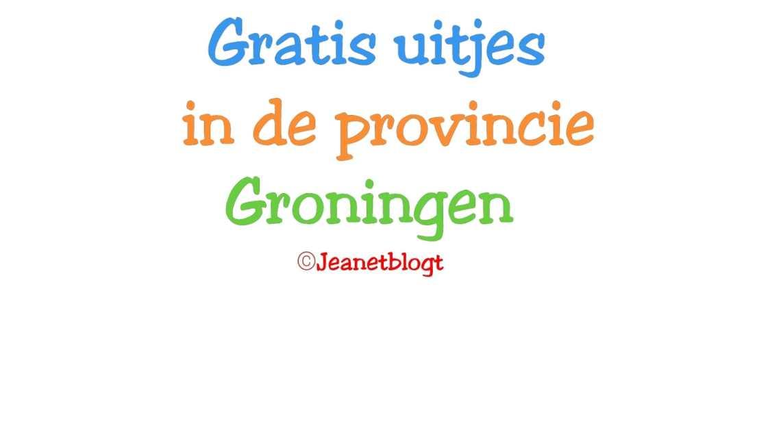 Gratis uitjes in Groningen