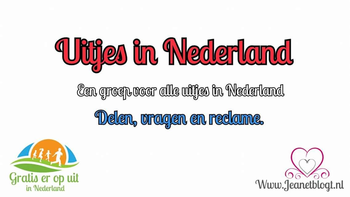 Een facebookgroep met uitjes door heel Nederland.