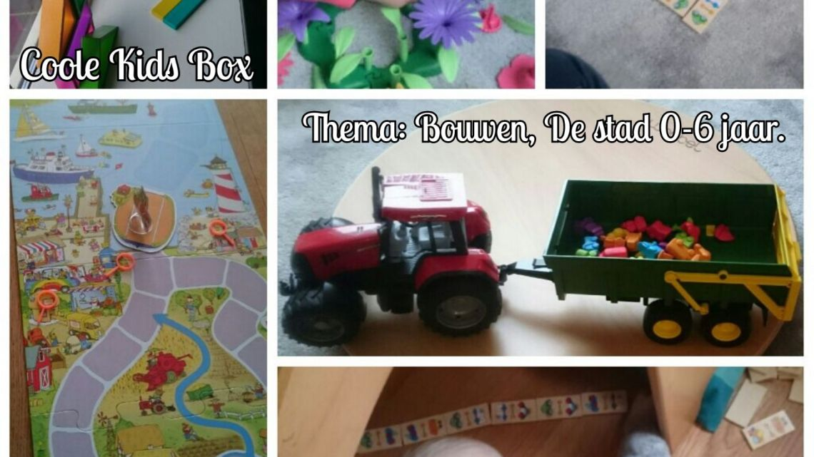 De Coole KIDS box, thema: 'Bouwen, de stad', is omgeruild.