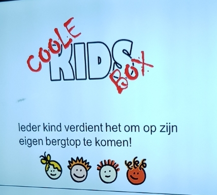 Training bij de Coole Kids Box