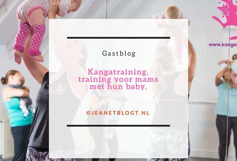 Gastblog: Kangatraining, training voor mama's met hun baby.