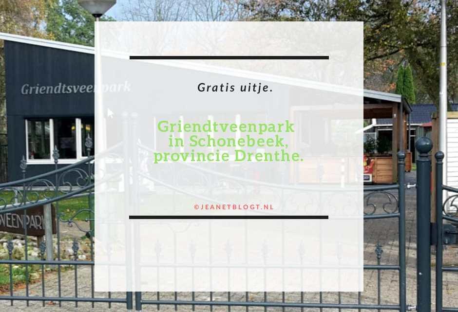 Griendtsveenpark in Schoonebeek, in de provincie Drenthe.