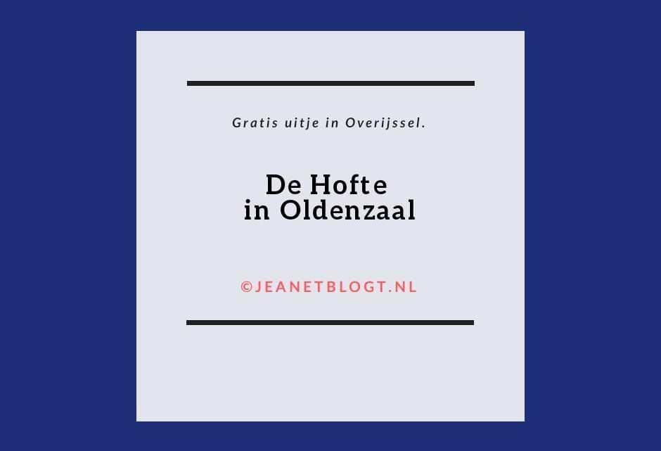 De Hofte in Oldenzaal.