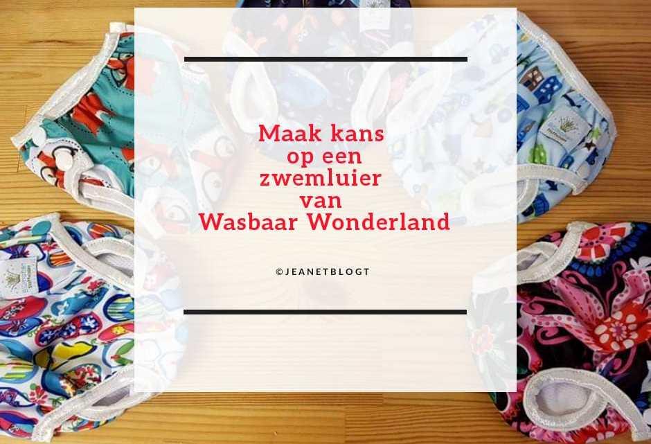 Maak kans op een zwemluier van Wasbaar Wonderland.