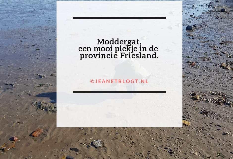 Moddergat, een mooi plekje in de provincie Friesland.