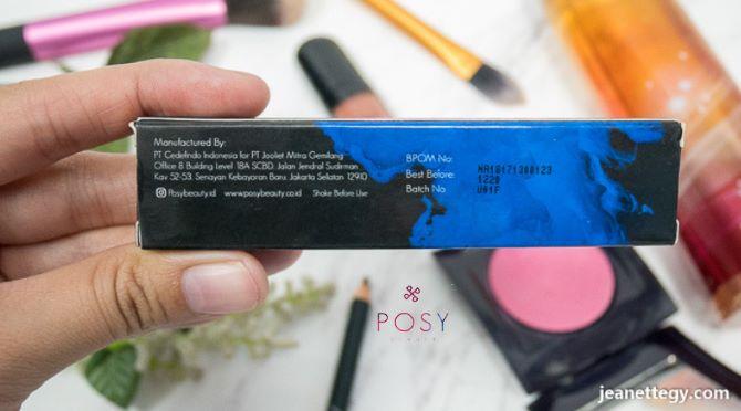 informasi produk posy liptick matte