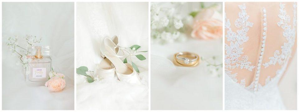 billeder af bryllupsdetaljer med bryllupsinspiration taget af aarhus bryllupsfotograf Jeanette Merstrand