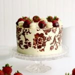 strawberry and chocolate cake – Version 2