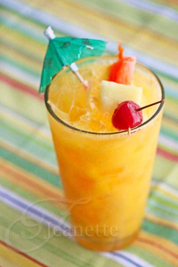 Mango Planter39s Punch Mocktail Recipe Jeanette39s Healthy