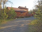 3 BR log home on 10 acres overlooking St Croix Flowage, Wascott, WI