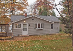2 BR Lake Minnesuing Home for sale. 8585 S Hwy P, Bennett, WI.