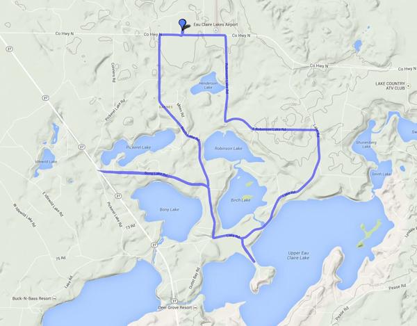 Bony, Birch, Robinson Lake Loop