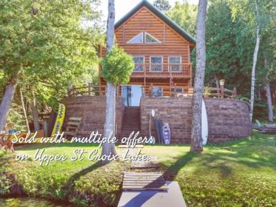 10929 S Jackson Dr, Solon Springs (Upper St Croix Lake). Closed 9/18/20. $205,000