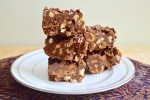 No Bake Chocolate Hazelnut Bars